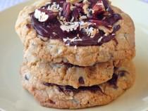 Chocolate Chip Coconut Pecan Cookies