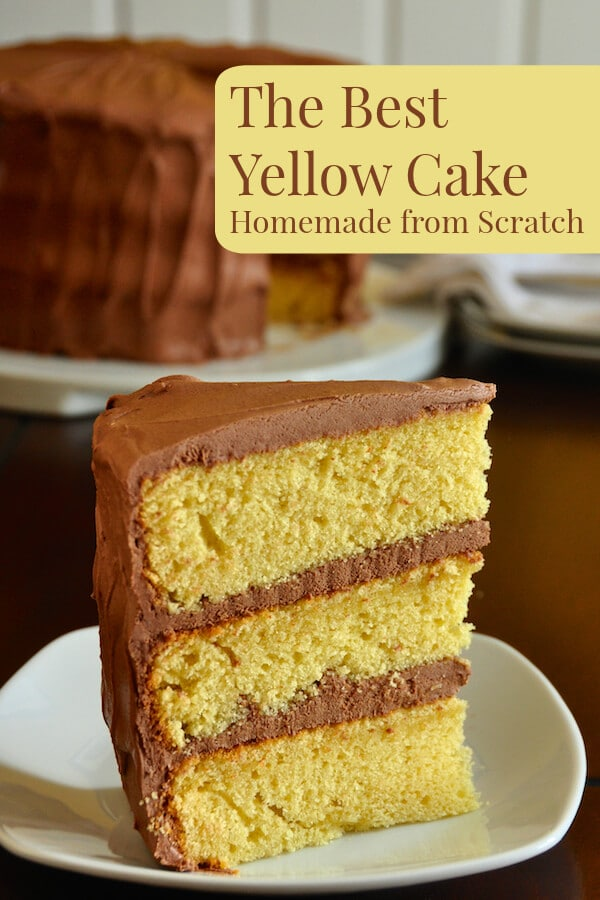 Yellow Cake Recipe From Scratch With Cake Flour