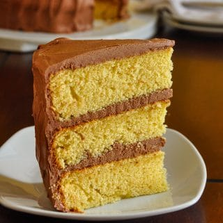 The Best Yellow Cake, square cropped featured image