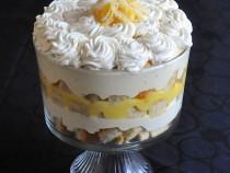 Lemon Mousse Trifle