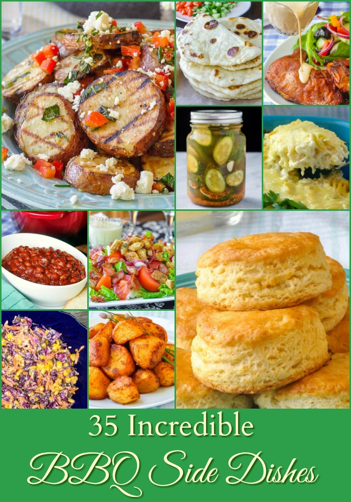 26 Best Barbecue Side Dishes photo collage for Pinterest