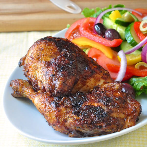 Maple Apple Barbecue Chicken