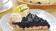 Lemon Blueberry Cheesecake Pie
