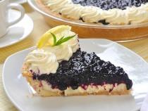 Lemon Blueberry Cheesecake Pie