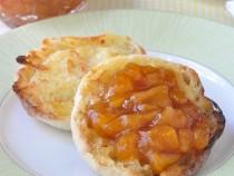 Easy Roasted Peach Jam