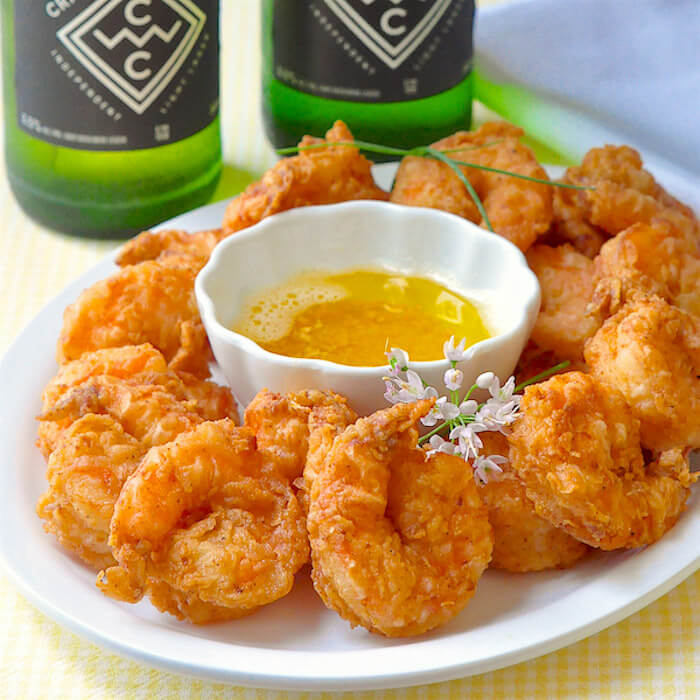 Southern Fried Shrimp & Garlic Butter featured image