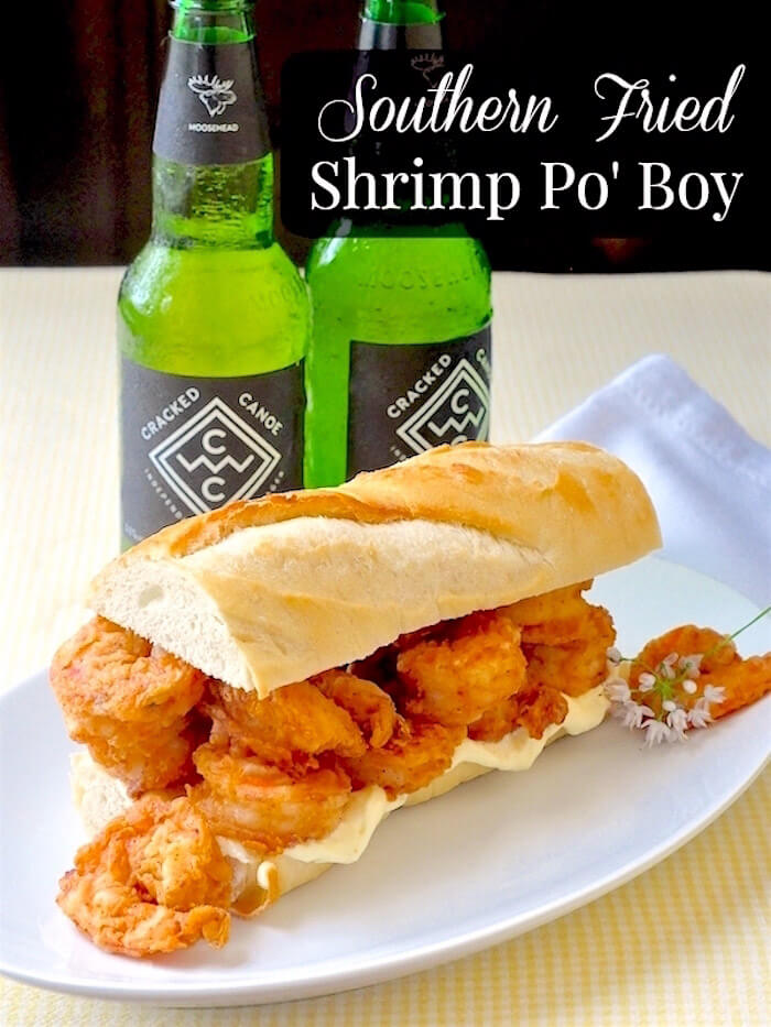 Shrimp Po' Boy image with text