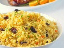 Carrot Raisin Rice Pilaf