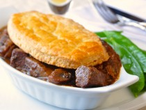 Souvlaki Braised Lamb Pie