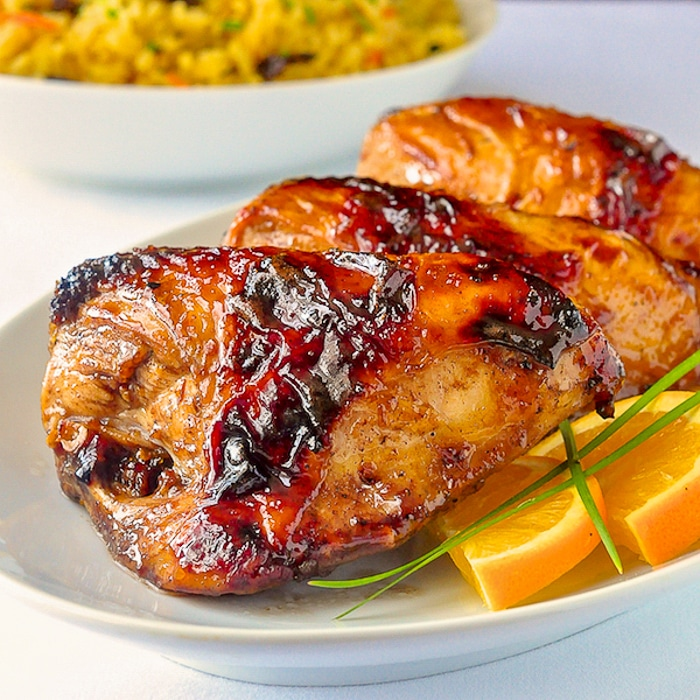Easy Orange Balsamic Chicken