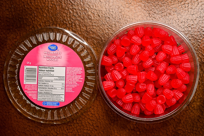 Walmart Red Berries Gumdrops