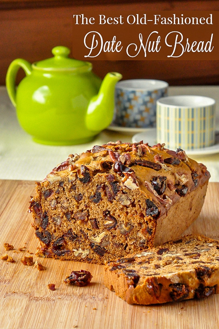 ate Nut Bread image with title text for Pinterest