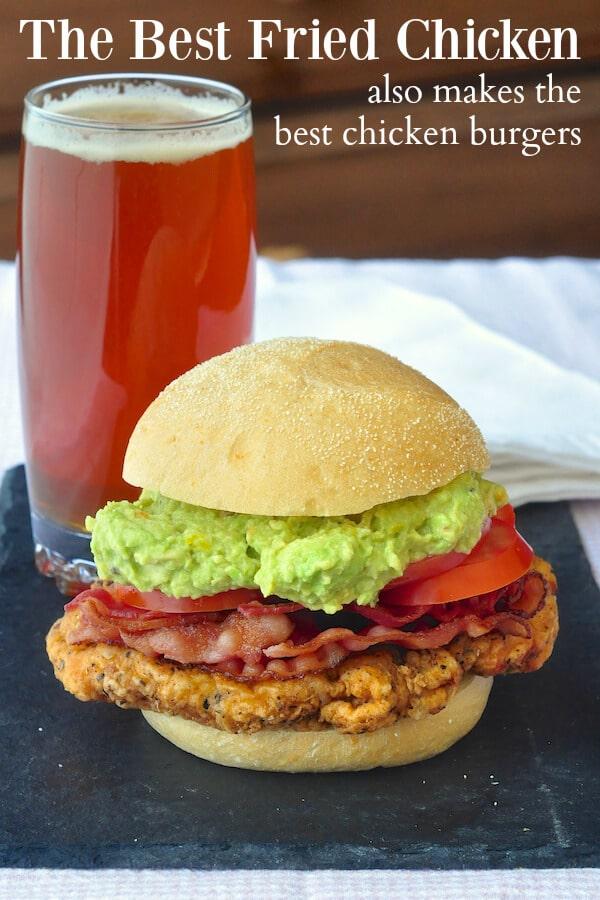 The Best Fried Chicken Burgers