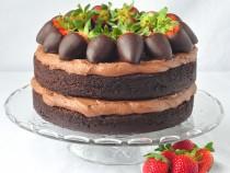 Chocolate Truffle Cream Cake