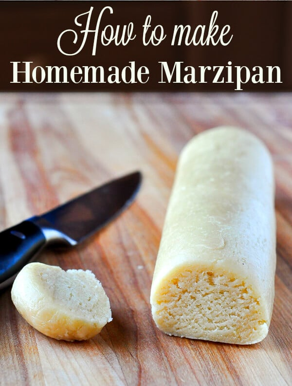 How to make Homemade Marzipan