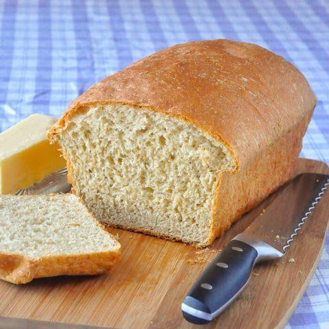Honey Oat Bran Bread