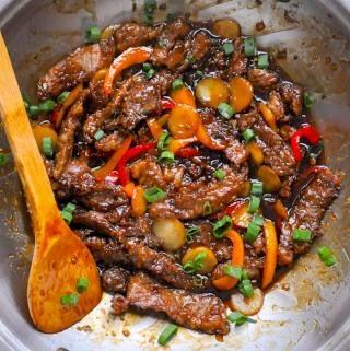 Mongolian Beef – a quick and easy recipe.