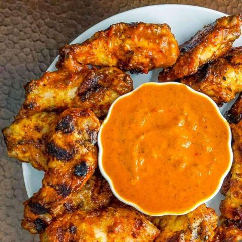 Better than Nando's Chicken Wings close up