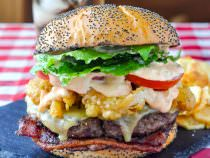 Barbecue Spice Burger