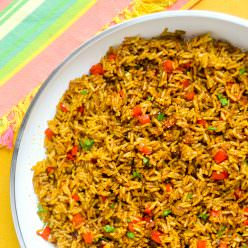 Spicy Turmeric Rice