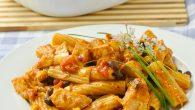 BBQ Chicken Pasta Bake
