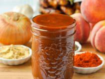 Honey Peach BBQ Sauce