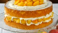 Bourbon Peach Shortcake