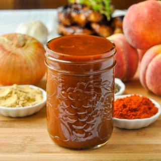 Honey Peach Barbecue Sauce