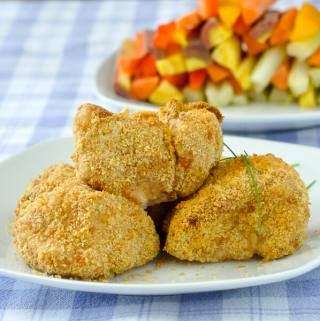 Crispy Cod Nuggets in The Philips Airfryer