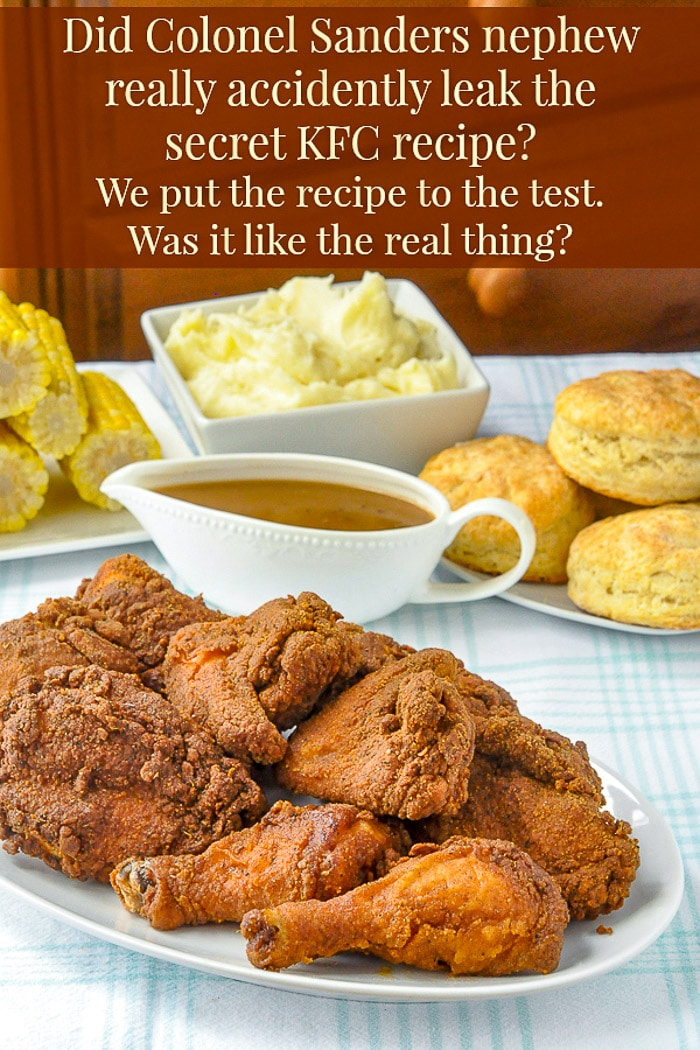 Copycat KFC photo with text added for Pinterest