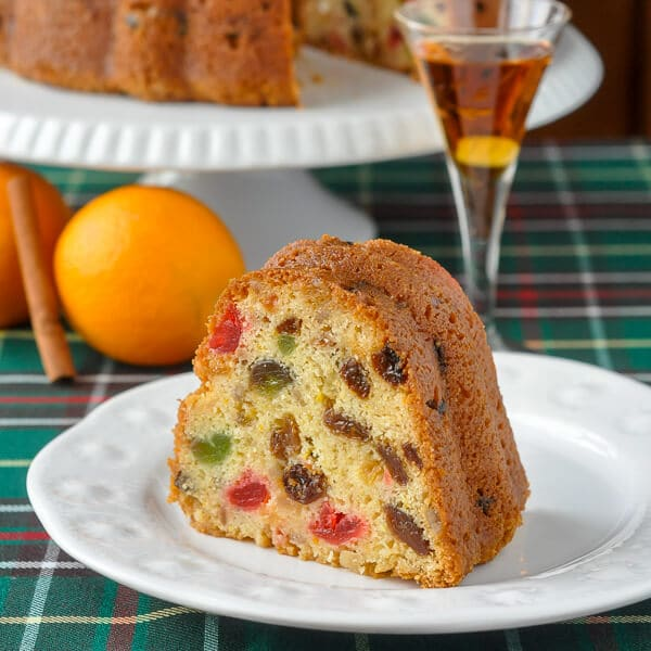 Orange Brandy Fruitcake
