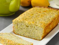 Lemon Poppy Seed Loaf Cake