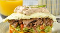 Steak & Eggs Breakfast Sandwich