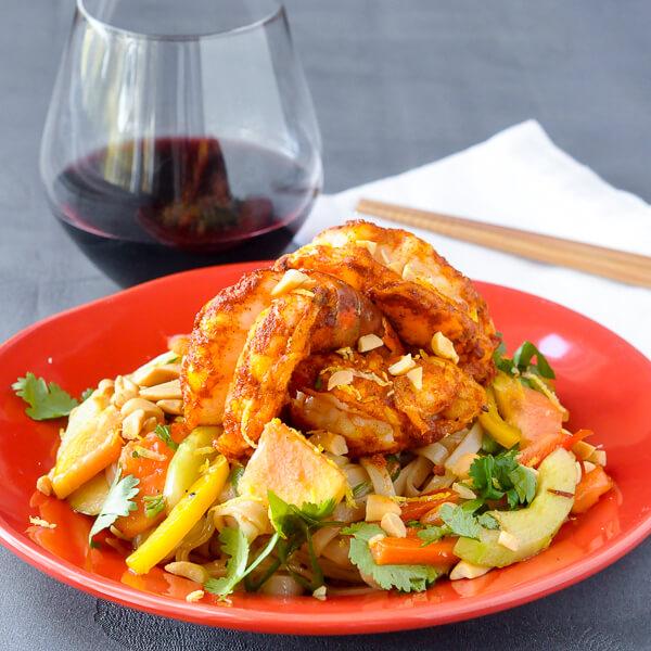 Tiger Shrimp and Glass Noodle Salad