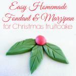Easy Marshmallow Fondant and Marzipan