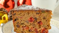 Bourbon Apple Fruitcake