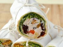 Turkey Waldorf Sandwich Wraps