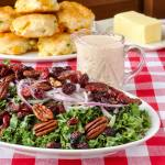 Cranberry Kale Salad