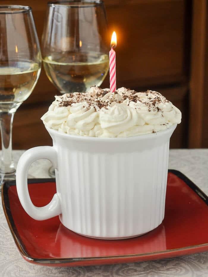 Chocolate Orange Mug Cake