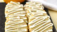 Lemon Poppy Seed Shortbread Cookies