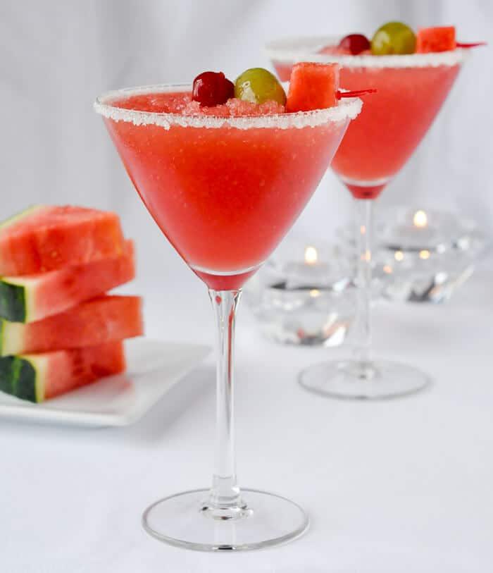 Watermelon Sangria Slush