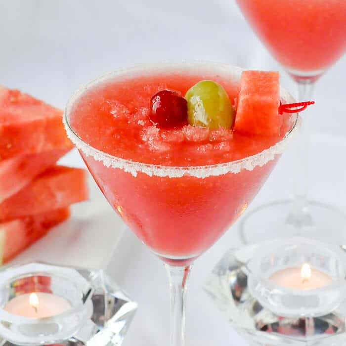 Watermelon Sangria Slush