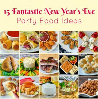Best New Year's Eve Party Food Ideas