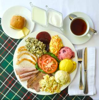 Newfoundland Cold Plate – a traditional post Christmas favourite.