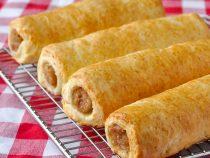 Buttermilk Biscuit Sausage Rolls