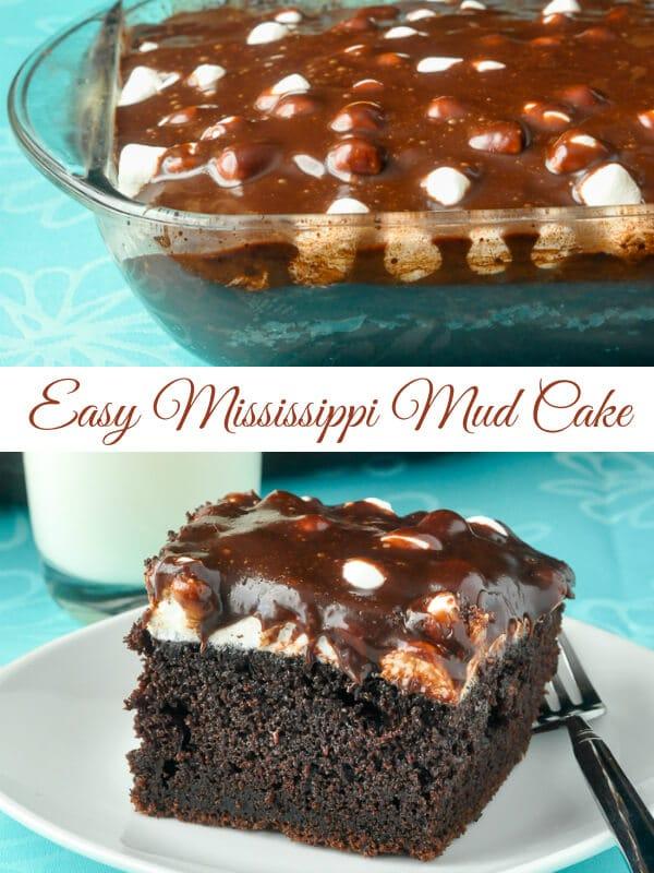 Easy White Chocolate Mud Cake Recipe