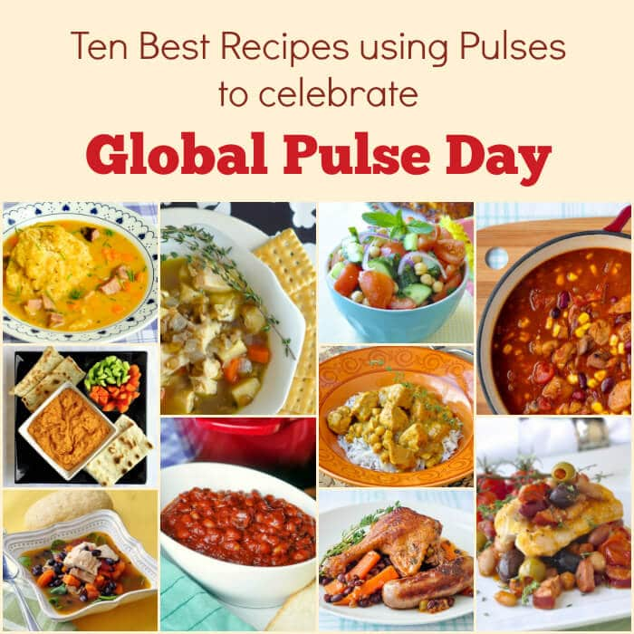 Global Pulse Day pulse recipes