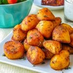 Smoked Paprika Roasted Potatoes featured square image for Google