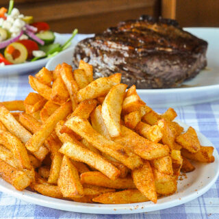 Barbecue Spice Mix Seasoning on french fries