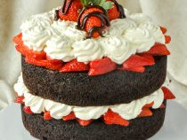 Easy Chocolate Strawberry Shortcake so quick and easy, this recipe takes only about 20 minutes of hands on preparation.